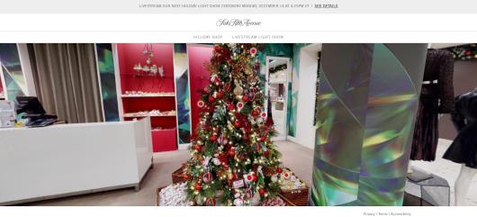 Saks Fifth AvenueとMastercardによるバーチャル・ホリデー・ショップ、Saks Holiday Shopオープン中_b0007805_03255749.jpg