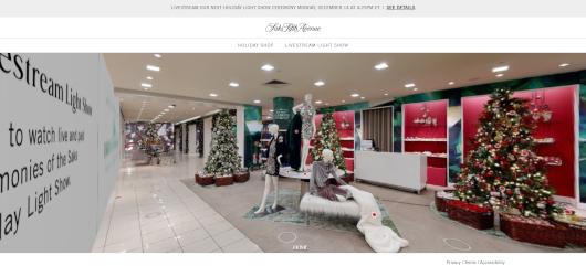 Saks Fifth AvenueとMastercardによるバーチャル・ホリデー・ショップ、Saks Holiday Shopオープン中_b0007805_03261793.jpg