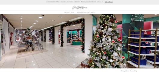 Saks Fifth AvenueとMastercardによるバーチャル・ホリデー・ショップ、Saks Holiday Shopオープン中_b0007805_03263559.jpg