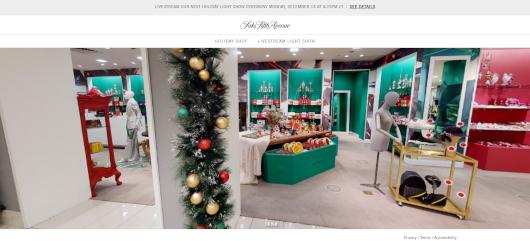 Saks Fifth AvenueとMastercardによるバーチャル・ホリデー・ショップ、Saks Holiday Shopオープン中_b0007805_03264450.jpg