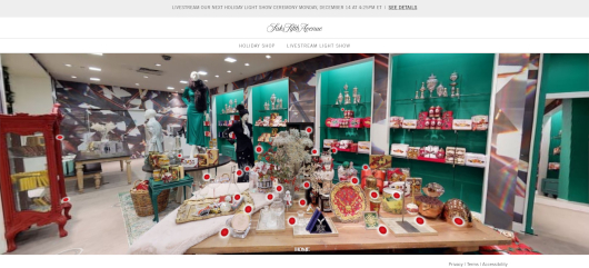 Saks Fifth AvenueとMastercardによるバーチャル・ホリデー・ショップ、Saks Holiday Shopオープン中_b0007805_03275183.jpg