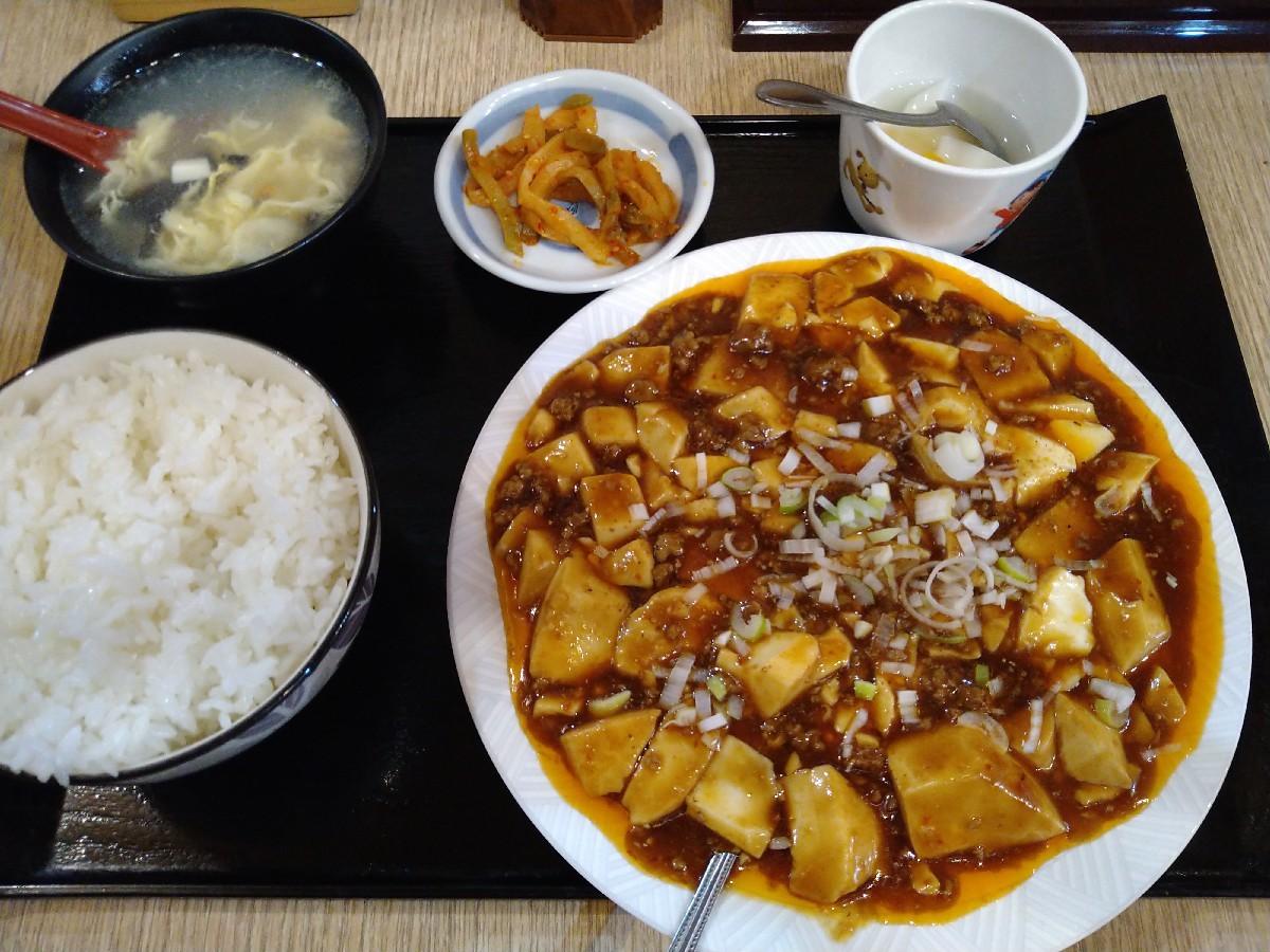 12/13夜勤前飯 和来亭豊田店 麻婆豆腐定食¥770_b0042308_18430227.jpg