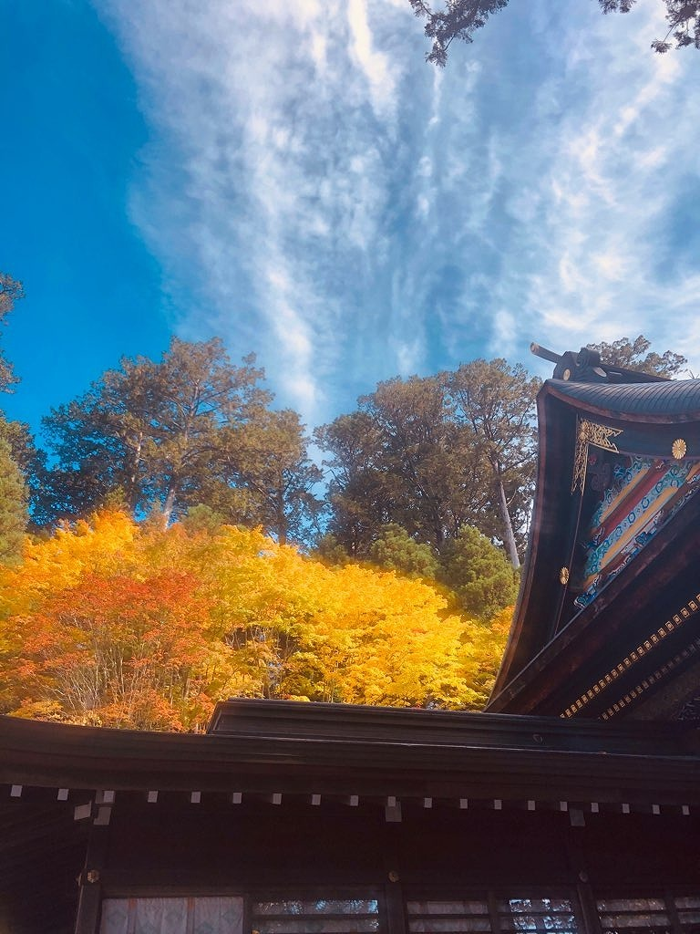 紅葉~三峯神社٩(´꒳`)۶_e0152329_16572174.jpg