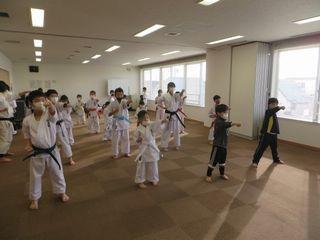 日曜空手 屯田教室 新琴似・新川教室_c0118332_16183079.jpg