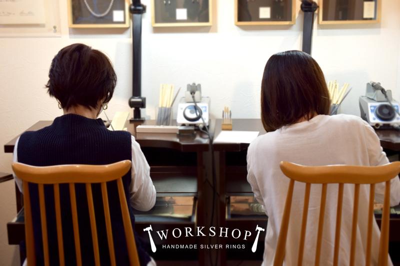 WORKSHOP シルバーリング作り体験教室*静岡県 N 様 & Y 様_e0131432_20113197.jpg