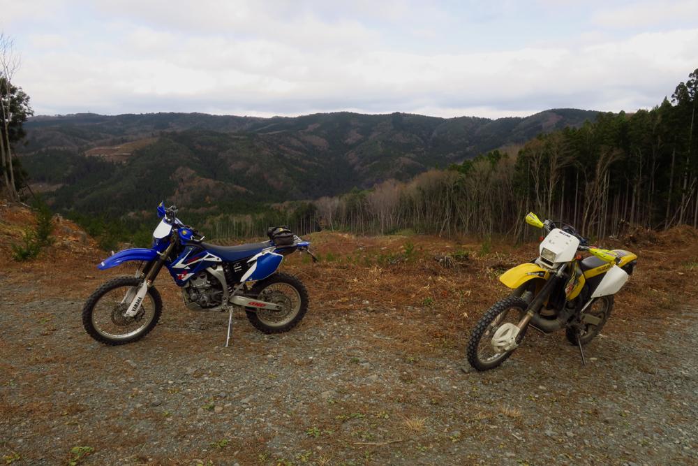 初冬のいわき林道ツーリング (WR250F)_f0126932_20070221.jpg