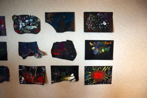 やと子ども美術教室 ~ 宇宙を描く ~_e0222340_13564933.jpg