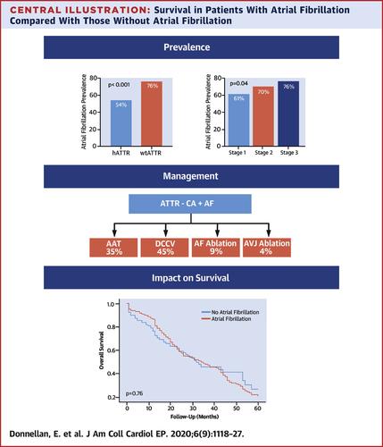 トランスサイレチン型アミロイドーシス の心房細動合併率は69%で早期介入が予後を改善する::JACCCE,retrospectiveコホート研究_a0119856_09474876.jpg