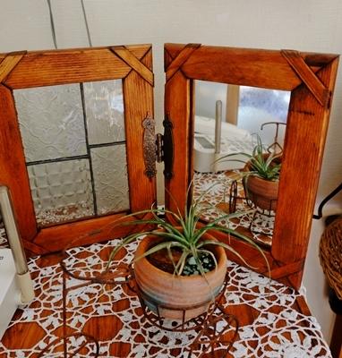 パッチワークとステンドグラスと木工品が素敵な生徒さんのお宅。_b0194861_15522916.jpg