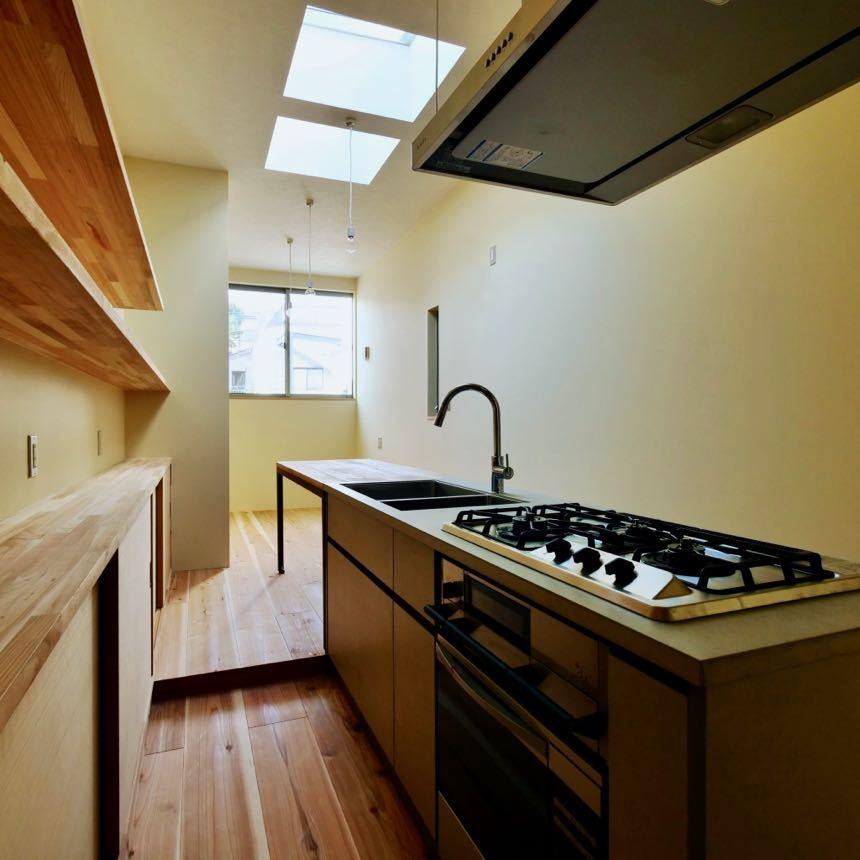 間取りに合わせたキッチンを製作します。_d0111714_18304118.jpg