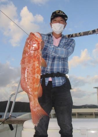 お正月用に高級魚を釣ろう!款璽丸_c0203337_21360324.jpg