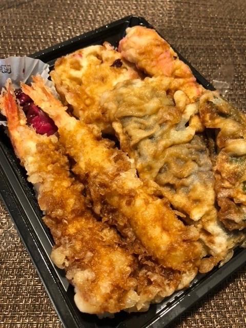 【又食べてしまった「天喜代」の天丼弁当】海老と穴子_b0009849_13192408.jpeg