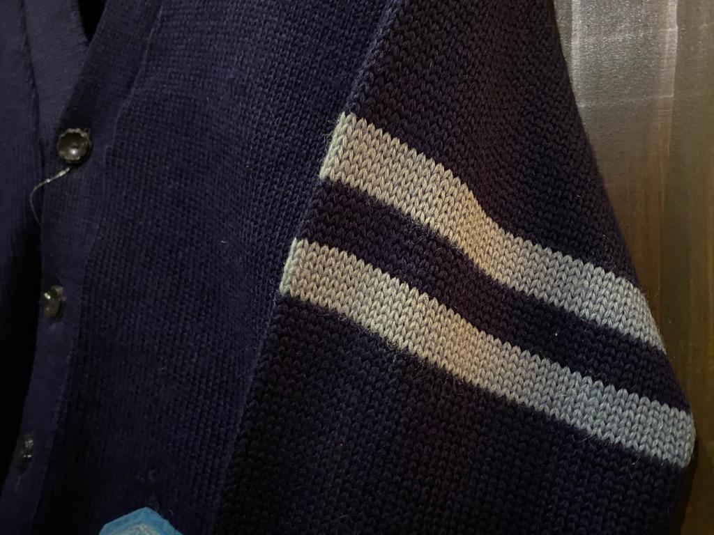 マグネッツ神戸店 12/16(水)Vintage入荷! #5 Athletic Cardigan!!!_c0078587_16171515.jpg