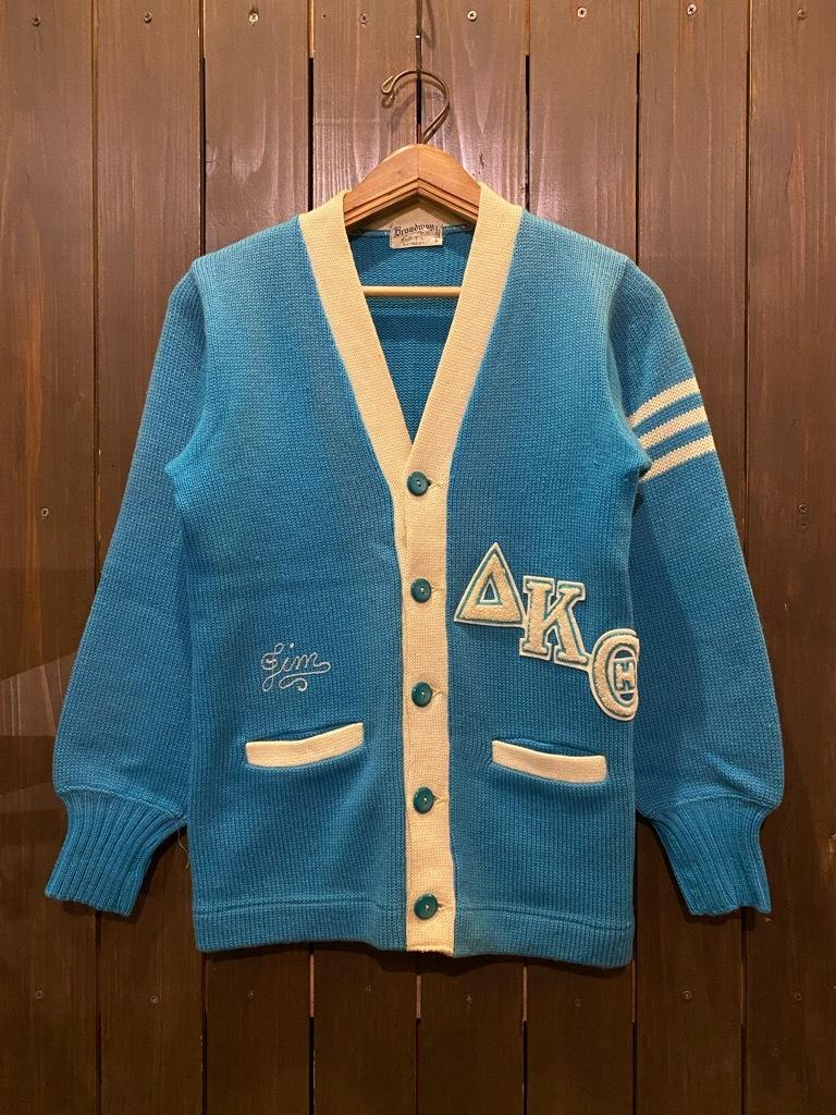 マグネッツ神戸店 12/16(水)Vintage入荷! #5 Athletic Cardigan!!!_c0078587_16190445.jpg