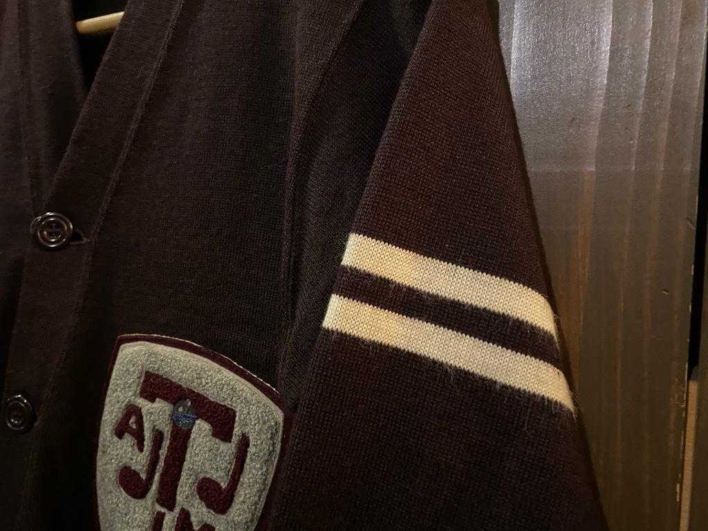 マグネッツ神戸店 12/16(水)Vintage入荷! #5 Athletic Cardigan!!!_c0078587_16205118.jpg