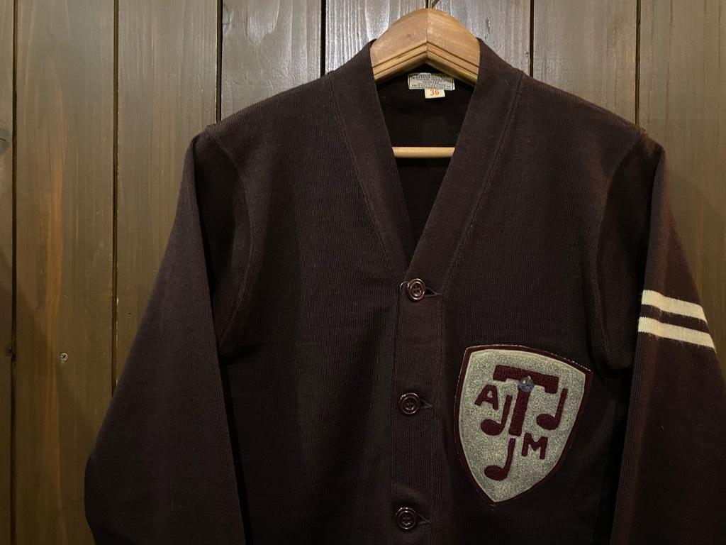 マグネッツ神戸店 12/16(水)Vintage入荷! #5 Athletic Cardigan!!!_c0078587_16205216.jpg