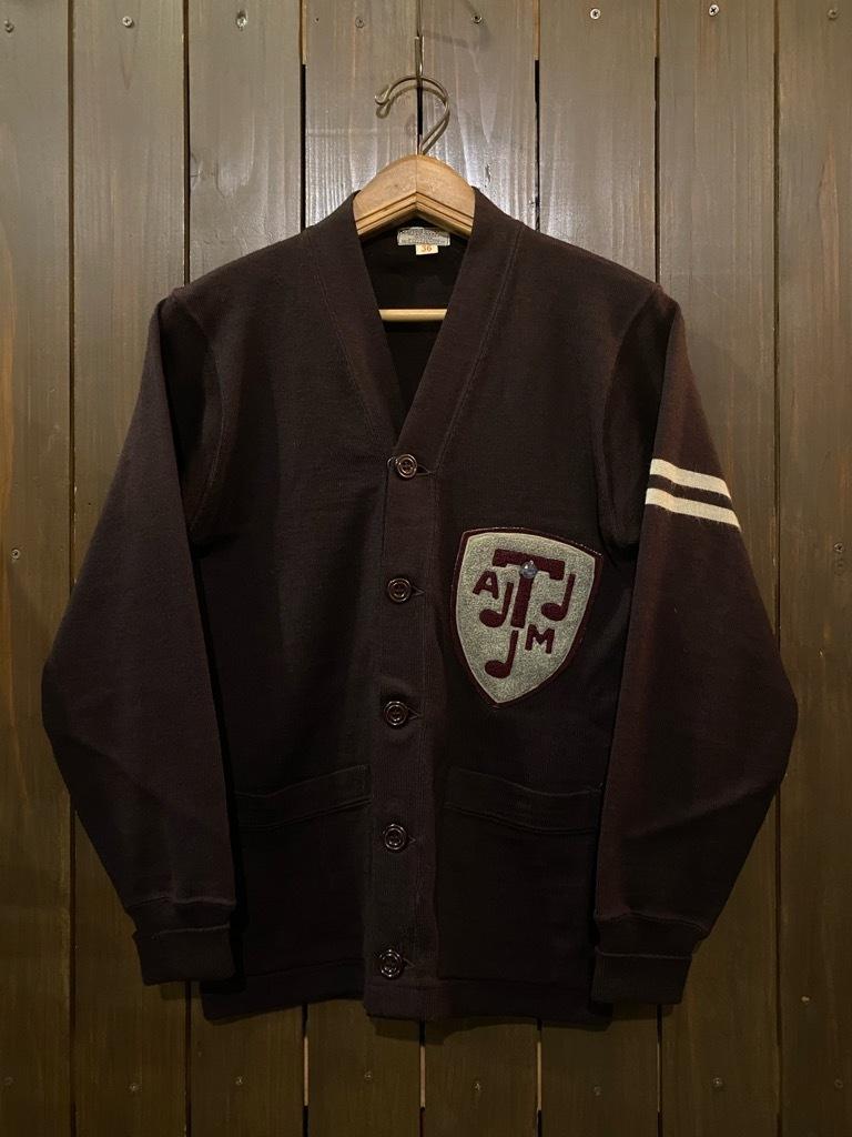 マグネッツ神戸店 12/16(水)Vintage入荷! #5 Athletic Cardigan!!!_c0078587_16205257.jpg