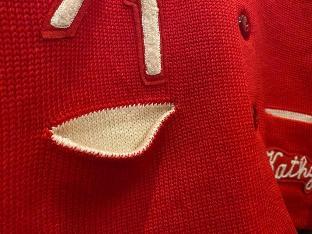 マグネッツ神戸店 12/16(水)Vintage入荷! #5 Athletic Cardigan!!!_c0078587_16244023.jpg