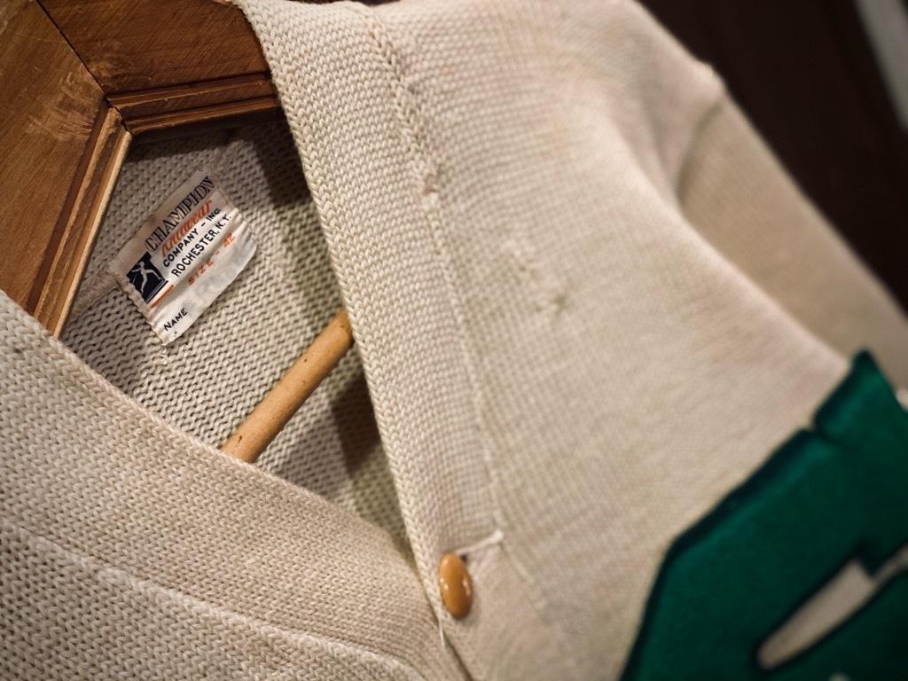 マグネッツ神戸店 12/16(水)Vintage入荷! #5 Athletic Cardigan!!!_c0078587_18522045.jpg