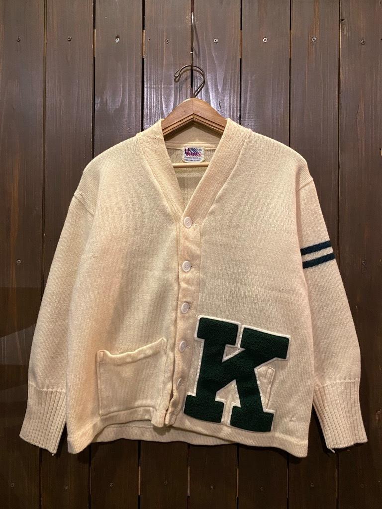 マグネッツ神戸店 12/16(水)Vintage入荷! #5 Athletic Cardigan!!!_c0078587_18525346.jpg