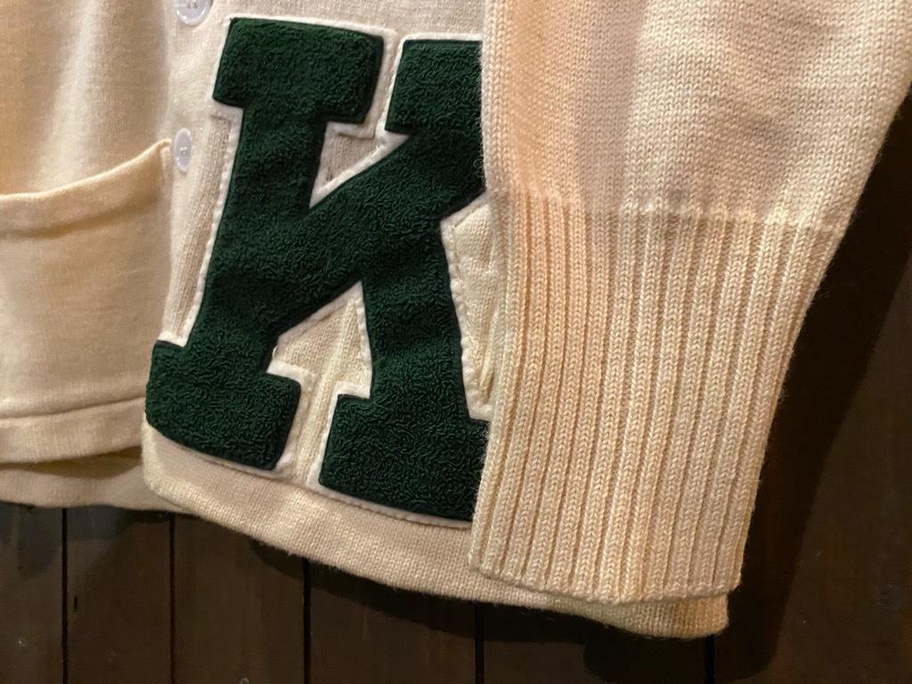 マグネッツ神戸店 12/16(水)Vintage入荷! #5 Athletic Cardigan!!!_c0078587_18531644.jpg