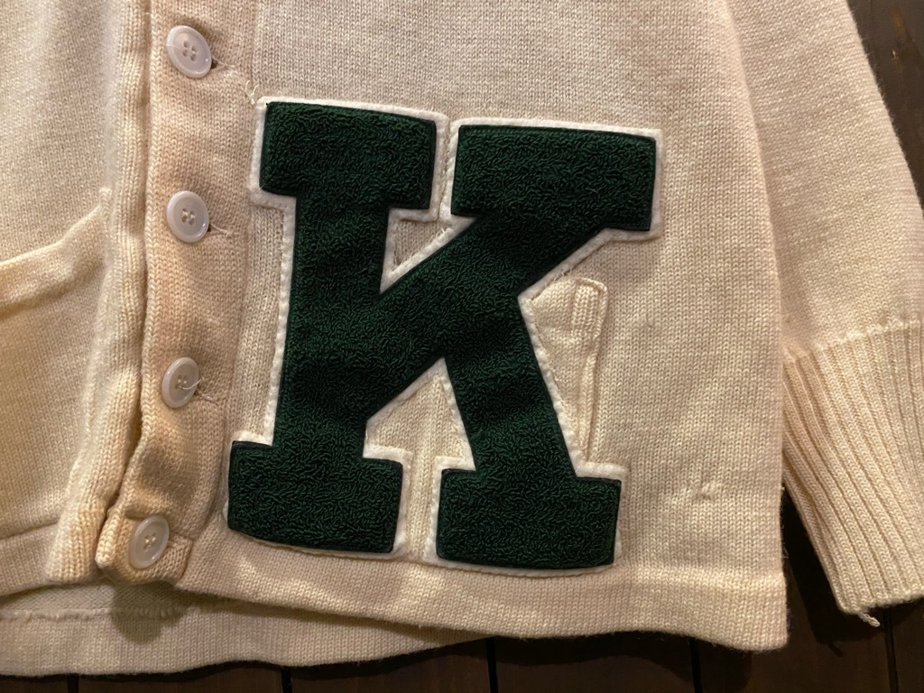 マグネッツ神戸店 12/16(水)Vintage入荷! #5 Athletic Cardigan!!!_c0078587_18531675.jpg