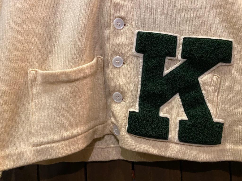 マグネッツ神戸店 12/16(水)Vintage入荷! #5 Athletic Cardigan!!!_c0078587_18531684.jpg