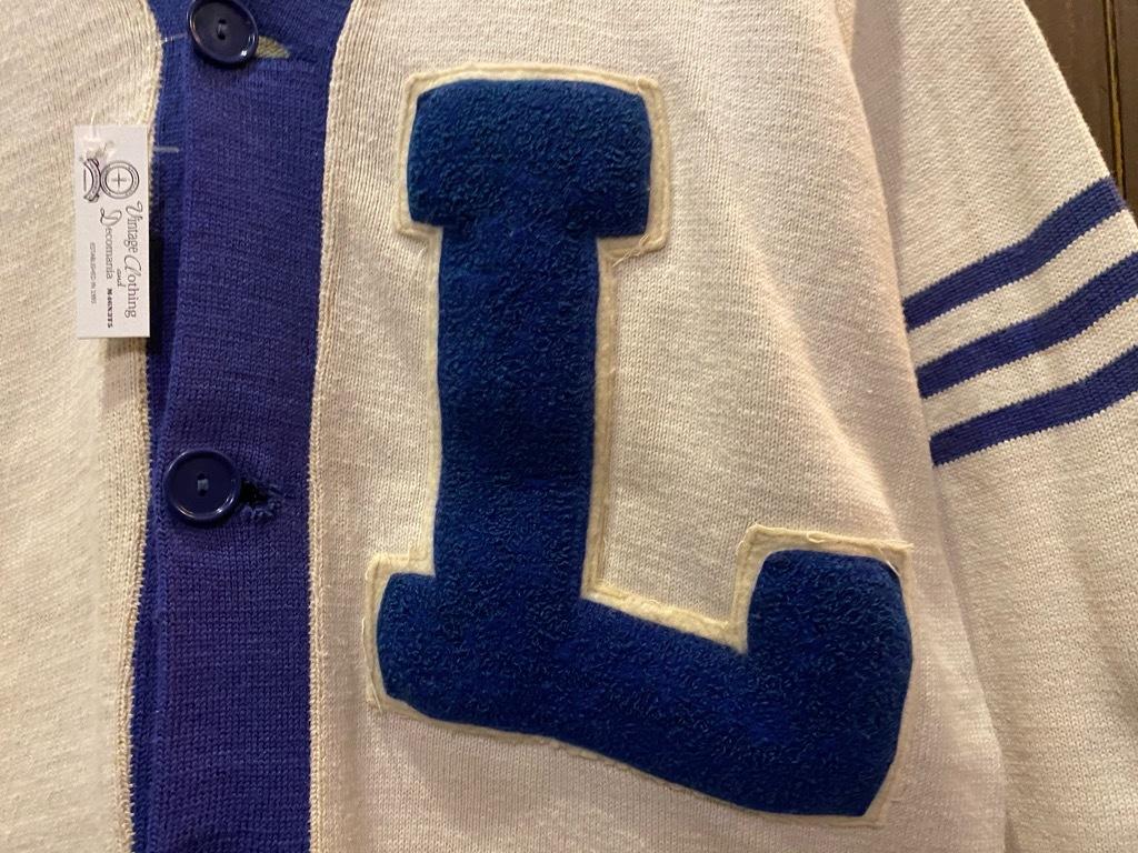 マグネッツ神戸店 12/16(水)Vintage入荷! #5 Athletic Cardigan!!!_c0078587_18543177.jpg
