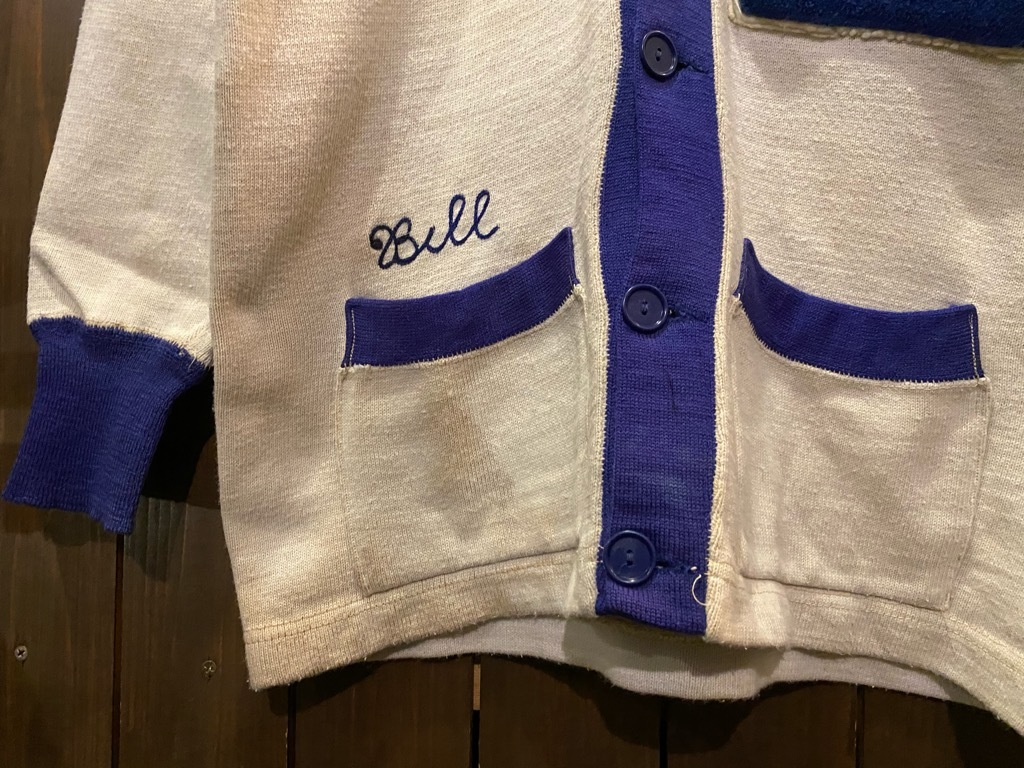 マグネッツ神戸店 12/16(水)Vintage入荷! #5 Athletic Cardigan!!!_c0078587_18543263.jpg