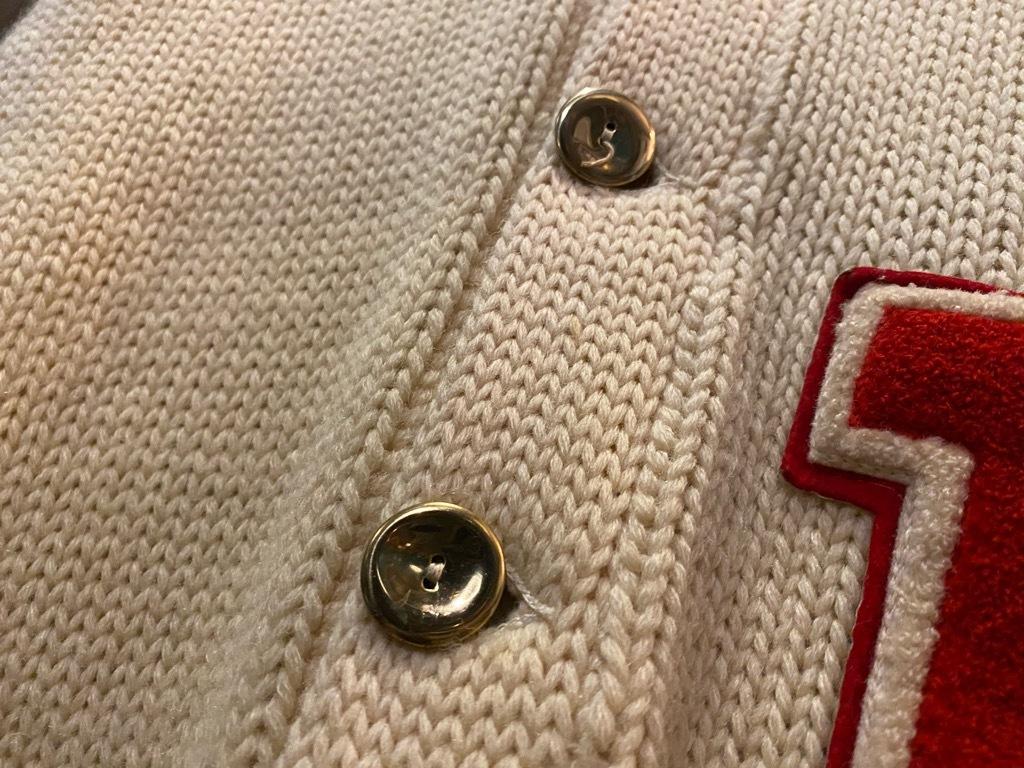 マグネッツ神戸店 12/16(水)Vintage入荷! #5 Athletic Cardigan!!!_c0078587_18550181.jpg