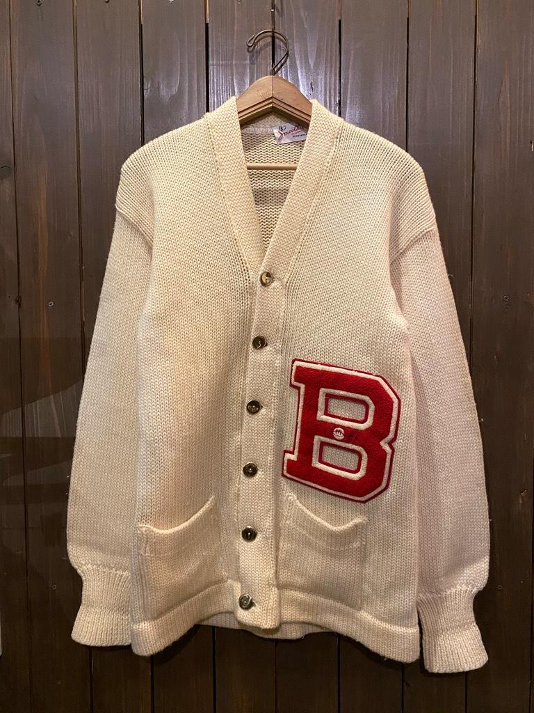 マグネッツ神戸店 12/16(水)Vintage入荷! #5 Athletic Cardigan!!!_c0078587_18550236.jpg