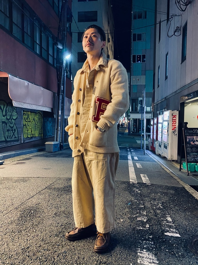 マグネッツ神戸店 12/16(水)Vintage入荷! #5 Athletic Cardigan!!!_c0078587_20414903.jpg