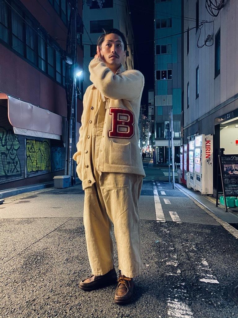 マグネッツ神戸店 12/16(水)Vintage入荷! #5 Athletic Cardigan!!!_c0078587_20414934.jpg