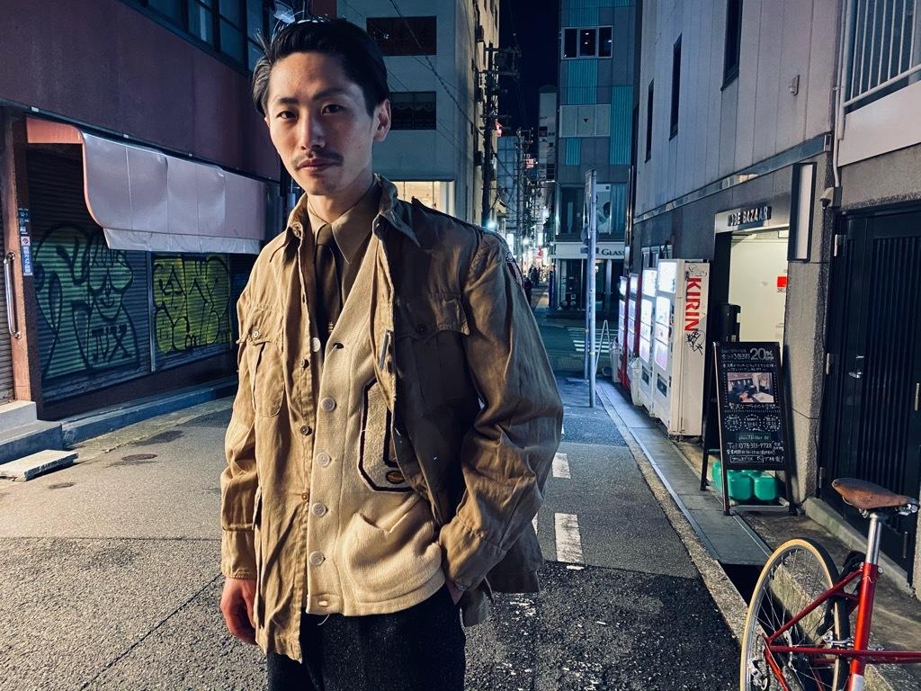 マグネッツ神戸店 12/16(水)Vintage入荷! #5 Athletic Cardigan!!!_c0078587_20422452.jpg