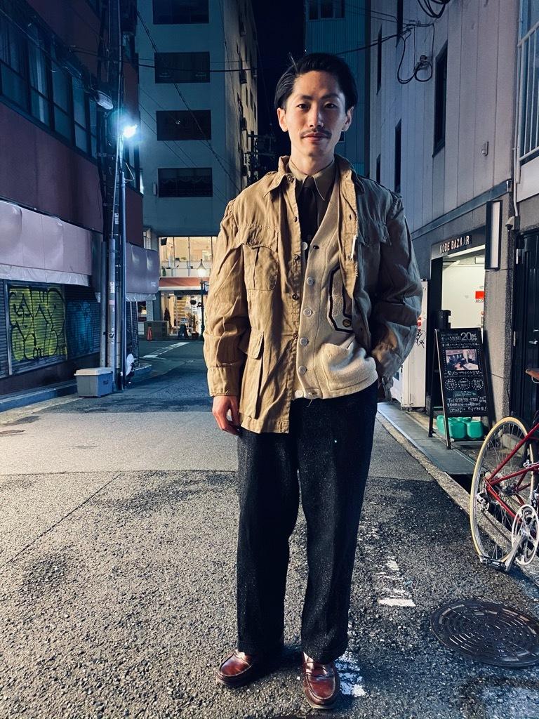 マグネッツ神戸店 12/16(水)Vintage入荷! #5 Athletic Cardigan!!!_c0078587_20422550.jpg