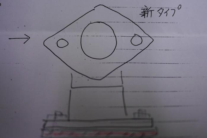 リブラプロ M15クロスプレート(ガイドワッシャー)変更_d0067418_11335784.jpg