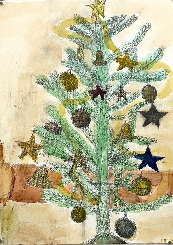 水彩画 大モチーフ「クリスマス」_b0318098_17414329.jpeg