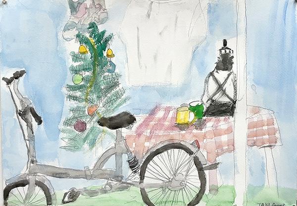 水彩画 大モチーフ「クリスマス」_b0318098_17414347.jpeg