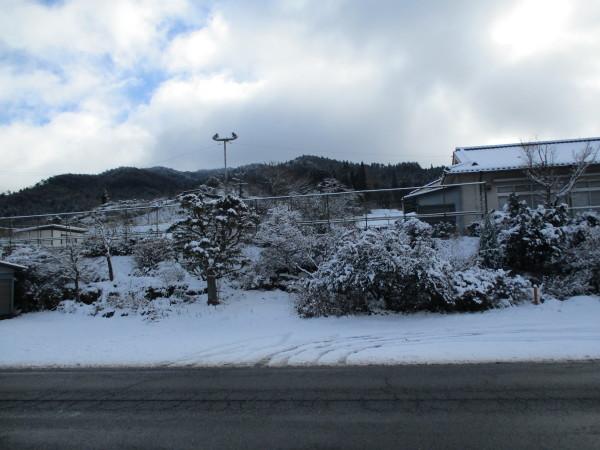 稲武にしては大雪です。_c0194003_11343327.jpg