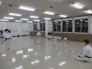 木曜空手 手稲教室 前田教室 稽古納め!_c0118332_20172499.jpg