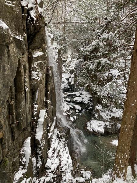 ❆付知峡の雪景色❆_e0020051_13531847.jpg