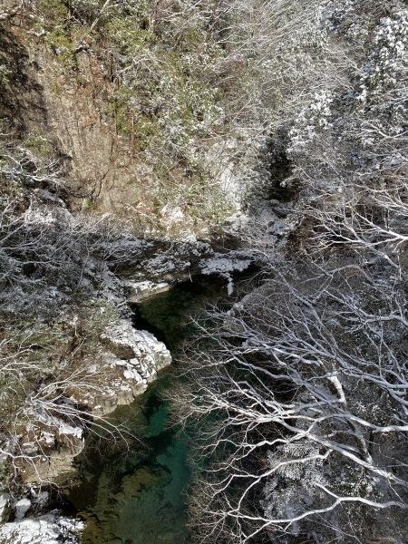 ❆付知峡の雪景色❆_e0020051_14115165.jpg