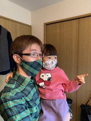 ~オーダーシャツ&共地マスク~ その弐 子煩悩なお客さま 編_c0177259_21301294.jpeg