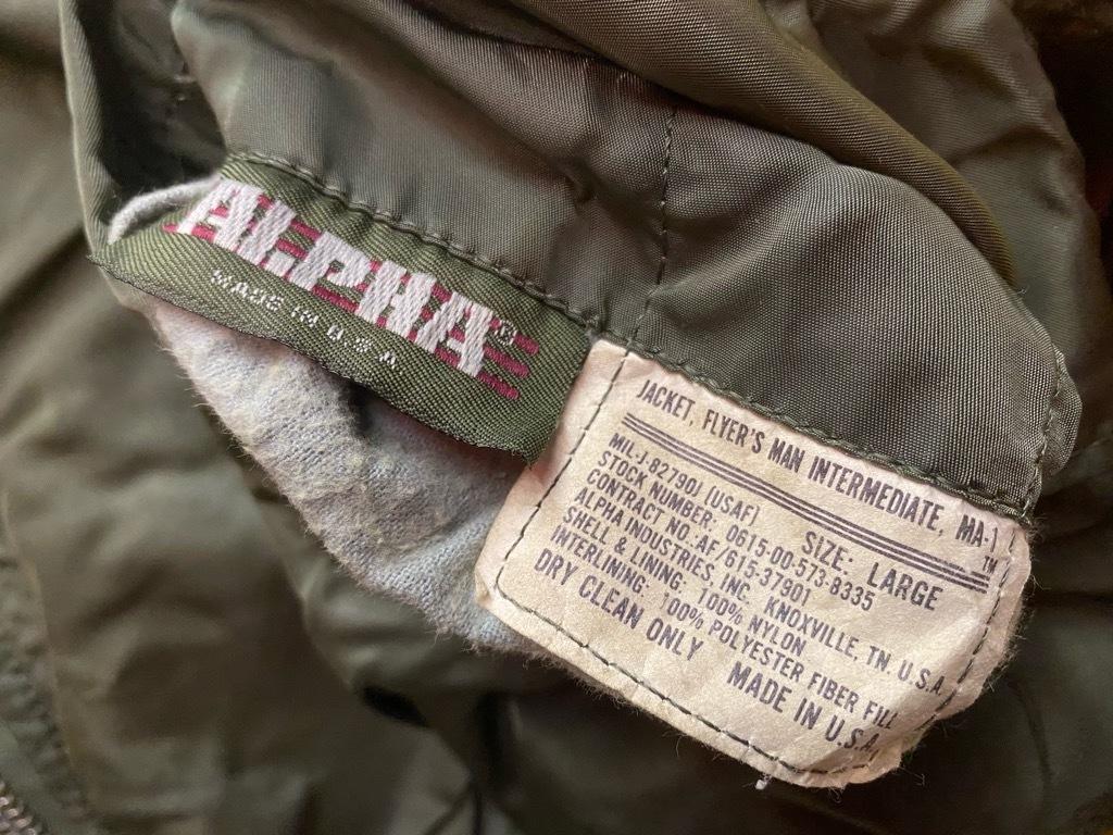 12月19日(土)マグネッツ大阪店Superior入荷日!! #6 Army&USAF編!!1989 USMA Cadet Parka,MA-1,N-3B&CWU-1/P!!_c0078587_19025680.jpg