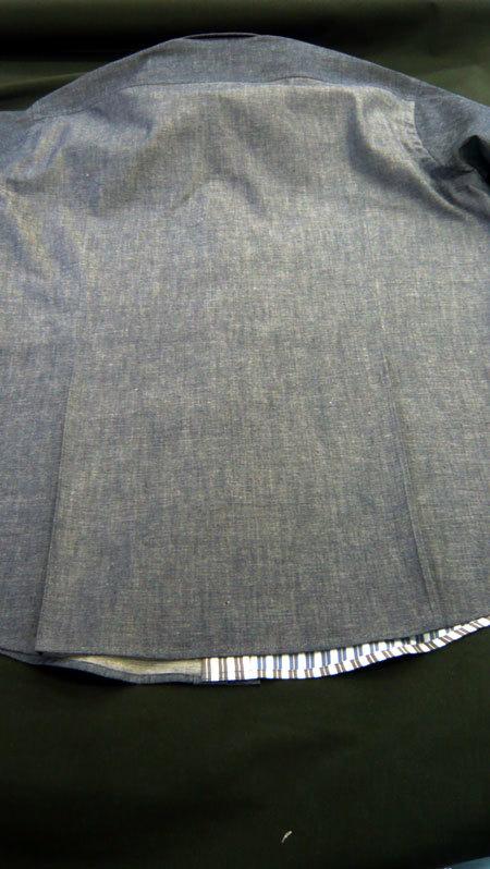パッチワークシャツ ダンガリー_a0110103_20232004.jpg