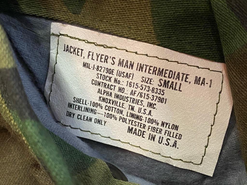 12月19日(土)マグネッツ大阪店Superior入荷日!! #6 Army&USAF編!!1989 USMA Cadet Parka,MA-1,N-3B&CWU-1/P!!_c0078587_10270092.jpg