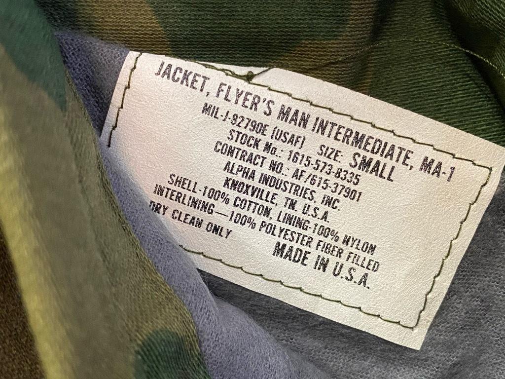 12月19日(土)マグネッツ大阪店Superior入荷日!! #6 Army&USAF編!!1989 USMA Cadet Parka,MA-1,N-3B&CWU-1/P!!_c0078587_10330124.jpg