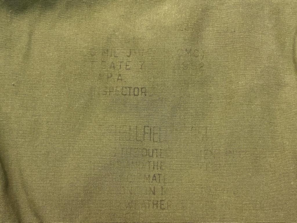 12月19日(土)マグネッツ大阪店Superior入荷日!! #7 U.S.Army編!!M-43,M-50,M-51,M-65&Sleeping Bag!!_c0078587_11124005.jpg