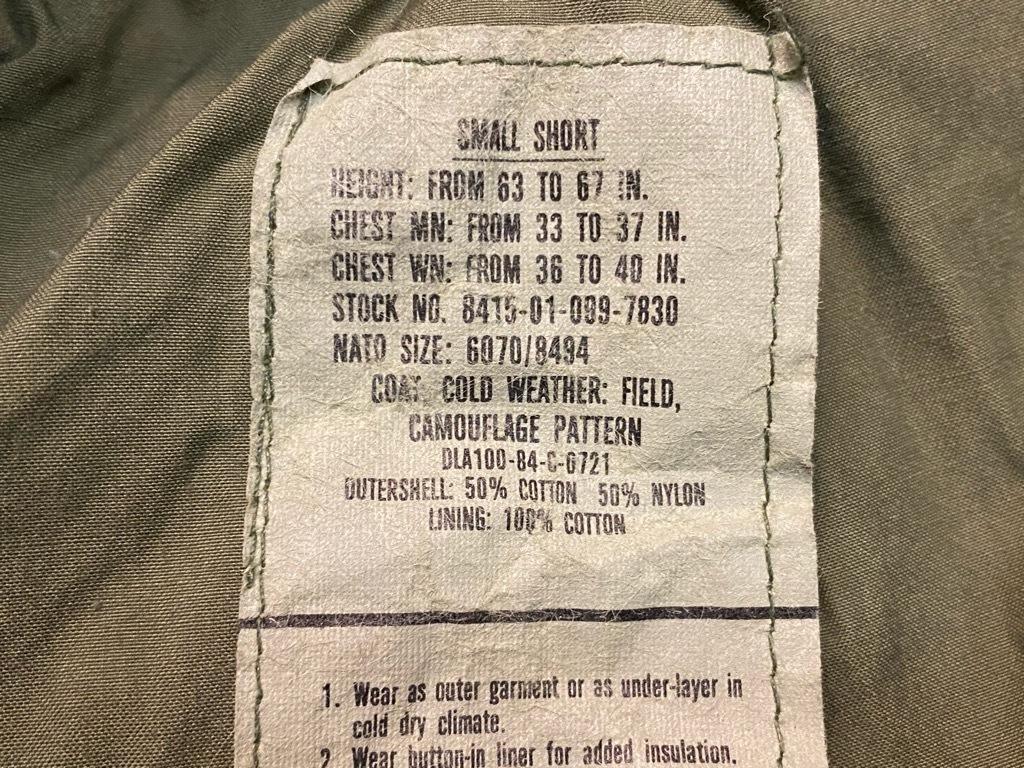 12月19日(土)マグネッツ大阪店Superior入荷日!! #7 U.S.Army編!!M-43,M-50,M-51,M-65&Sleeping Bag!!_c0078587_11265451.jpg