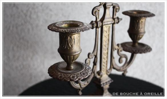 bougeoir キャンドルスタンド 手燭 燭台 フランスアンティーク その1_d0184921_18140755.jpg